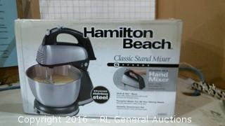 Hamilton Beach Standing Mixer