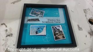 Shadow Box Scrapbook frame