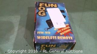 Fun Fog Wireless Remote