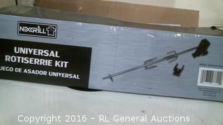 Universal Rotiserrie Kit