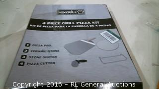 4 Piece Grill Pizza Kit