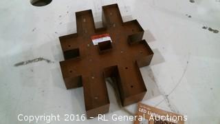 Lighted  Letter