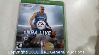 XBOX One NBA Live 16
