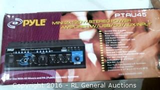 Pyle Stereo Power Amplifier
