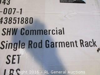 Single Rod garment Rack
