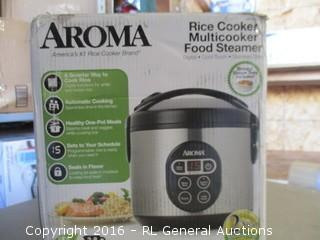Aroma Rice cooker and Multicooker Food Steamer