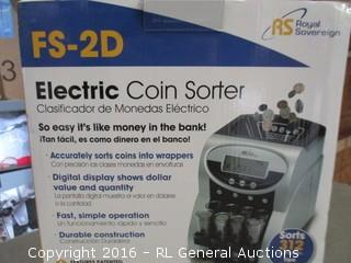 Electric Coin Sorter