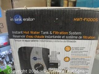 Instant Hot water Tank & Filtration System