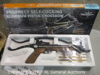 PRophecy Self Cocking Aluminum pistol crossbow