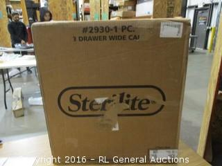 Sterilite 3 drawer Cart