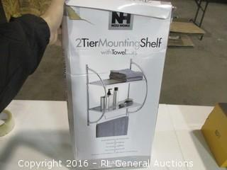 2 Tier Mounting Shelf