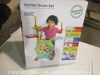 WolVol Drum Set