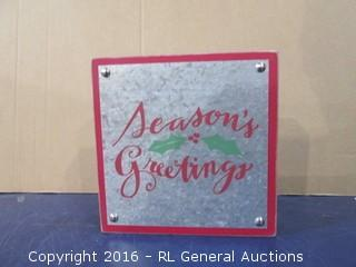 Season Greetings- Christmas decor