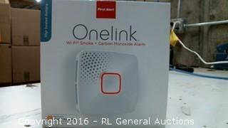 One Link WiFi Smoke + Carbon monoxide Alarm