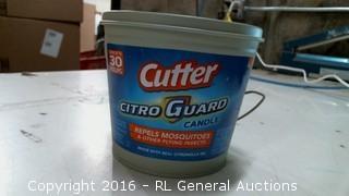 Cutter Guard Candle