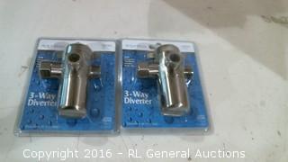 3 Way  Diverter