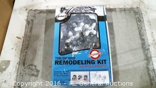 Tub Shower Remodeling Kit