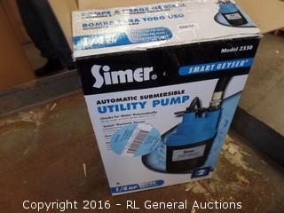 Simer Ulity Pump