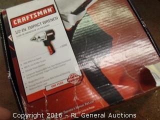"""Craftsman 1/2"""" impact Wrench"""