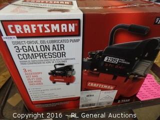 Craftsman 3 gallan Air compressor