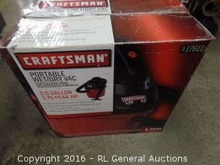 Craftsman partable Wet/dry vac