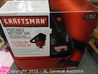 Craftsman Portable Wet/Vac