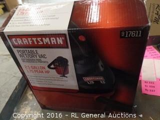Craftsman Portable Wet/dry Vac