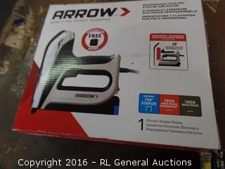 Arrow Personal Electric Stapler and Nailer