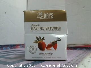 Organic Plant Protein Powder