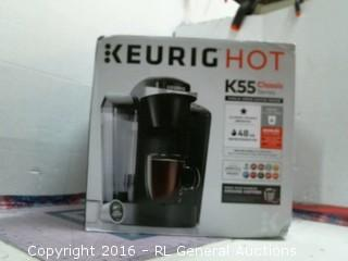 Keurig Hot/ water leadk