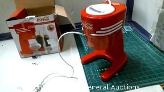 Coca Cola Electric Shaver ICe machine