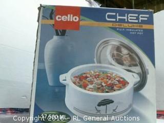 Cello Chef Insulated Hot Pot