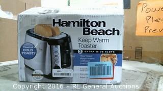 Hamilton Beach toaster