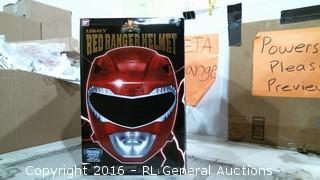 Legacy Red Ranger Helmet