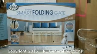 Smart Folding Gate