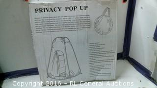 Privacy Pop Up