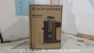 Black & Decker Juice Extractor