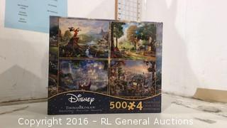 Disney Puzzle Factory Sealed