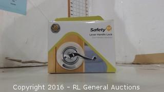 Safety Level Handle Lock