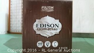 Edision Light bulbs
