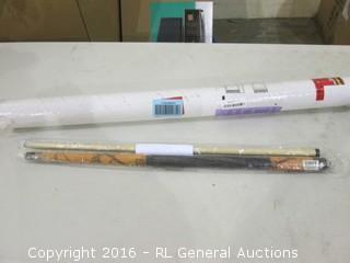 Cue Stick and Item See Pics