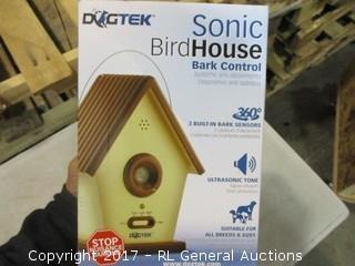 Sonic Bird House Bark control