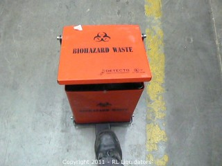 Biohazard Waste Can