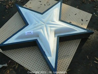 Star, Exterior Building Sign