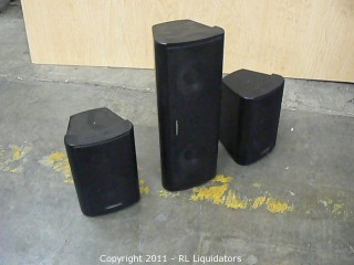 Speakers, A Set of Three