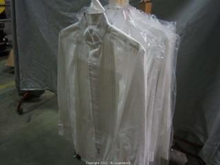 10-White Shirts Pierre Cardin