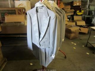 Tailed Gray Tuxedos-Bill Blass
