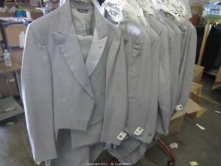 Gray Tuxedos Tailed
