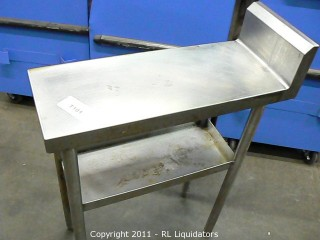 Table, Stainless Steel Countertop
