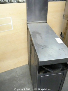 Oven Prep Table, Stainless Steel